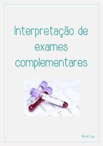 Interpretação de exames complementares