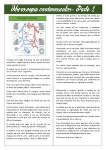 Microscopia Cardiovascular - Parte 2