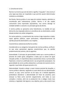 CONCEITO DE NORMA