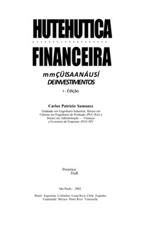 Carlos Patricio Samanez Matematica Financeira Pdf Download