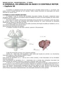 O cerebelo os gänglios da base
