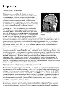 Psiquiatria – Wikipédia  a enciclopédia livre