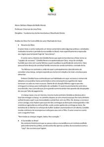 Direito e Literatura - Analise do Conto Pai contra Mãe