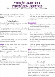 Variação Linguística e Preconceitos Linguísticos