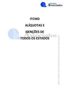 ITCMD  PERCENTUAL EM UFIR