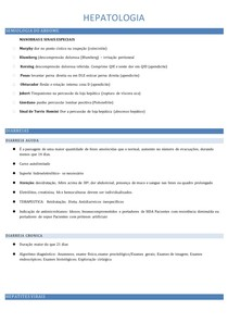 HEPATOLOGIA - Dor Abdominal