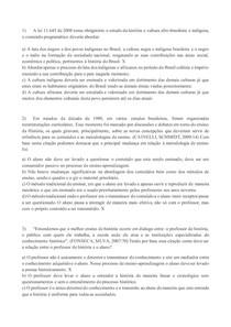Atividade Avaliativa Especial - ensino de história- teoria e pratica- Prova 2 RESOLVIDA