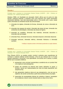 Pedagogia - Questões de Concursos Publicos - Modulo 4