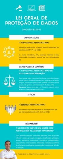 LEI GERAL DE PROTEÇÃO DE DADOS (LGPD) - CONCEITOS IMPORTANTES