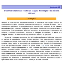 Capítulo 12 - Desenvolvimento das células do sangue, do coração e do sistema vascular - Embriologia Veterinária Poul Hyttel
