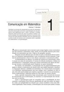 Cap 01 -  Ler, escrever e resolver problemas: habilidades básicas para aprender matemática -  Smole e Diniz