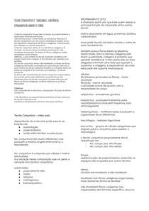 Histologia - Tecido conjuntivo e suas células