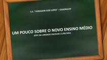 UM POUCO SOBRE O NOVO ENSINO MÉDIO - ATPC DA UE 11-05-2021