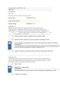 APOL 05 NOTA 100 ESTAT E PSICOLOGIA