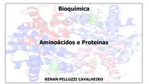 Aula 4 Aminoácidos e proteínas