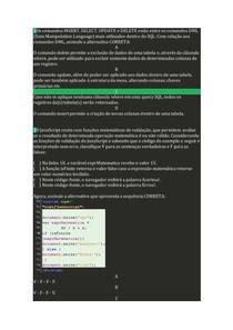 Avaliação II - Individual Programação para Web I