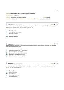 AV 2 - competencia gerenciais