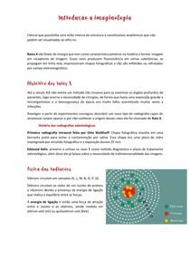 Introdução à imaginologia - História, Raio X e aparelhos Raio X