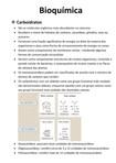 Bioquímica - RESUMO CARBOIDRATOS
