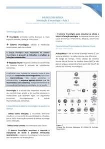 Introdução à Imunologia