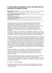 A intervenção do psicólogo no pré e pós-operatório do programa de implante coclear