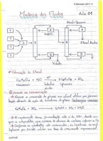 (EQE357) Caderno de Mecânica dos Fluidos (Profº Russo - 2017.1)