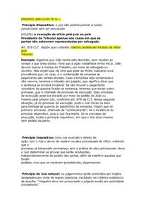 PROCESSO DO TRABALHO