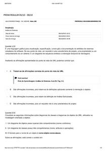 Prova Objetiva   Análise de Sistemas   Nota 100 com gabarito