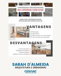 VANTAGENS E DESVANTAGENS DA COZINHA COM ILHA
