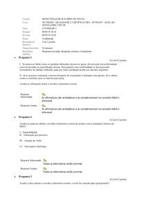 EAD - Qualidade e certicações