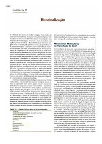 Bioquímica Lehninger - cap13 Biossinalização