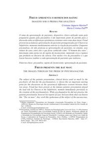 Freud apresenta o homem dos ratos imagens sob o prisma psicanalítico