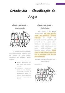 Classificação de Angle