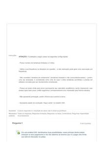 ATIVIDADE TELEAULA III FINANÇAS EM PROJETOS DE TI UNIP TI
