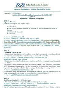 DJi - 034 a 052-D-004.388-2002-Estatut.Roma.Trib.Penal Internac.Composiç.Administração