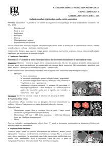 Avaliação e Conduta Cirúrgica dos Nódulos e Cistos Pancreáticos