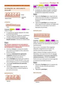 Resumo de Patologia