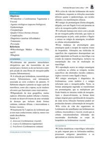 LEISHMANIOSE TEGUMENTAR E VISCERAL