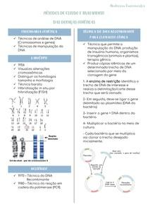 Método de estudo e tratamento das doenças genéticas