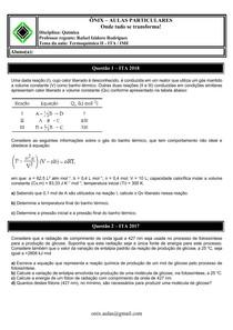 Termoquímica II - ITA-IME