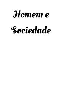 Homem e Sociedade