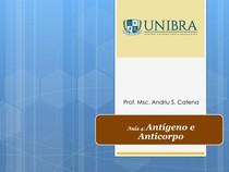 Antígeno e Anticorpo Aula- 4