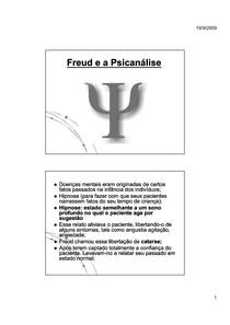 Psicologia_Freud e a Psicanálise