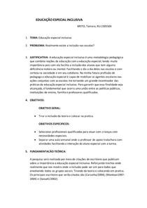 PROJETO DE PESQUISA DO TCC