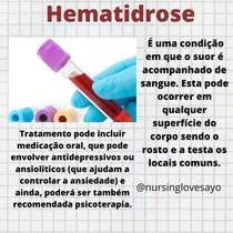 Hematidrose