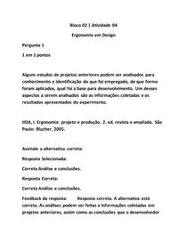 Ergonomia em Design A4