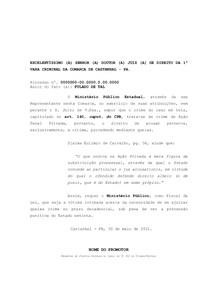 MODELO DE APP - AÇÃO PENAL PRIVADA