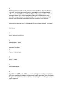AV1 - Análise Orientada a Objetos I