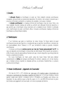 05 - Mutação Constitucional