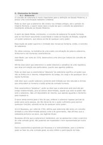 6. ELEMENTOS DO ESTADO